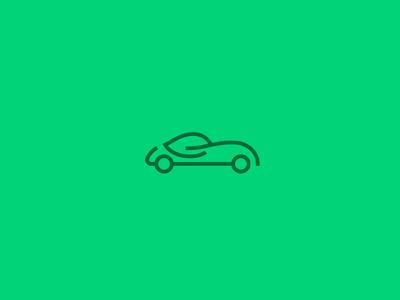 Eco Drive  laukai car ecology icon green eco logo