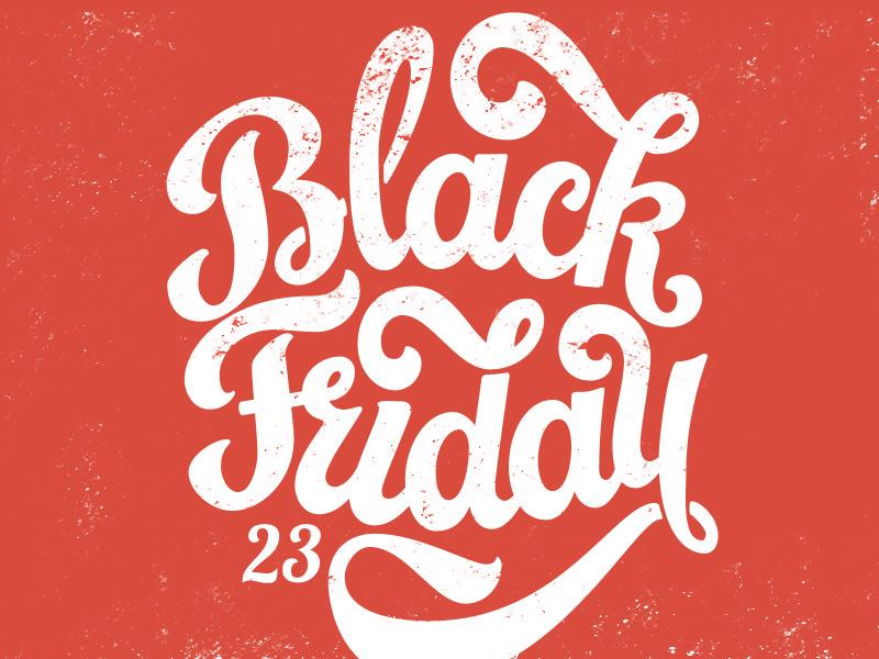 Black Friday (lettering)