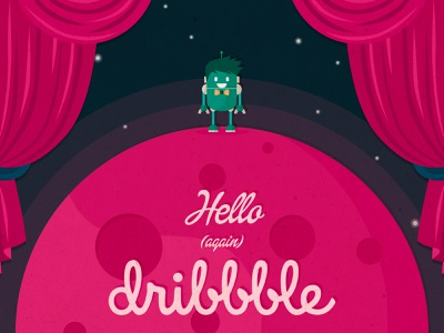 Hello (again) Dribbble! sketching sketch photoshop illustrator flat design flat botella felix game design character design app design vector illustration product ui design hellodribbble come back welcome shot first shot
