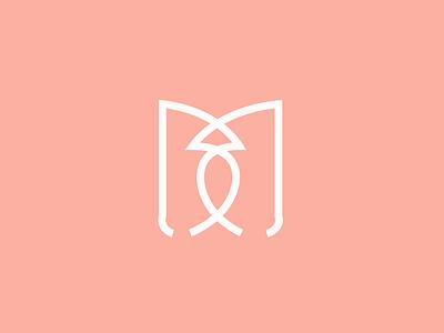B+M logo design graphic design logo