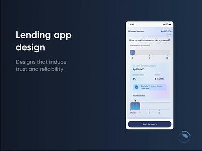 Dynamic data dashboard motion graphics app fintech branding ux ui design