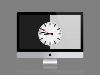 Railway Analog Clock