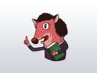 Sticker Foxy