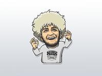 Khabib Nurmagomedov Sticker