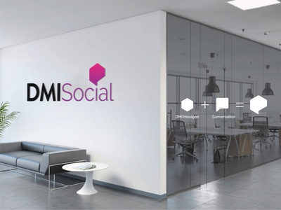 DMISocial social design logo