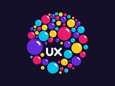 Ux Bubbles bubbles logo