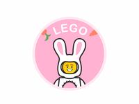 Lego bunny rabbit lego