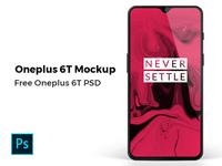 Oneplus 6T Mockup Freebie