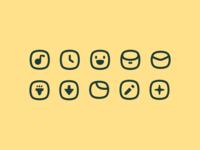 blob icons