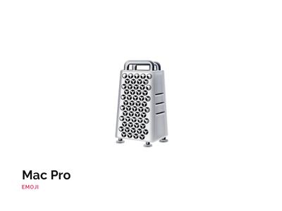 New Mac Pro Emoji xdr 2019 joke freebie emojis cheese grinder apple icon emoji