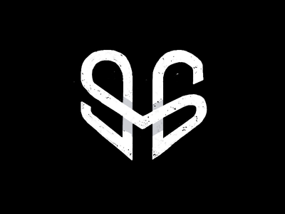 Logo 96 m heart clean brand minimal simple branding symbol monogram logo mark identity