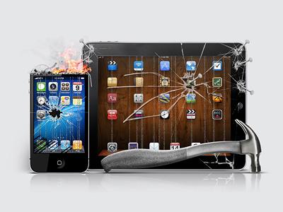 Broken iPhone & iPad broken iphone ipad