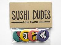 Sushi Dudes Pin Pack