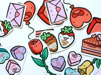Valentine's Sticker Pack