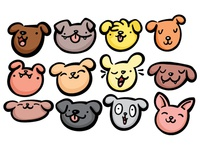 Mini Dog Illustrations
