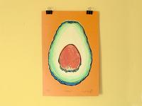 Avocado Screen Print