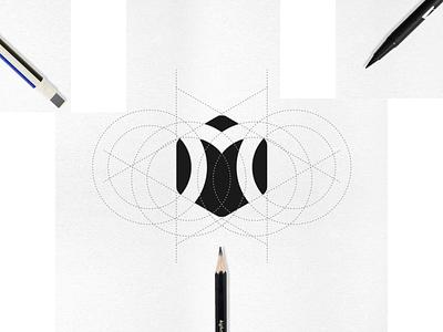 M letter + Shield logo process luxurylogo minninglogo financiallogo securitylogo financial branding graphic design icon app bestlogo logooooawesome modernlogo logogrid logoprocess shieldlogo letter m typography vector logo design