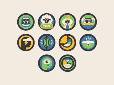 Stress Icons