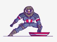 Captain America (iPad Pro)