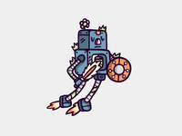 Messing Around With 50's Robots