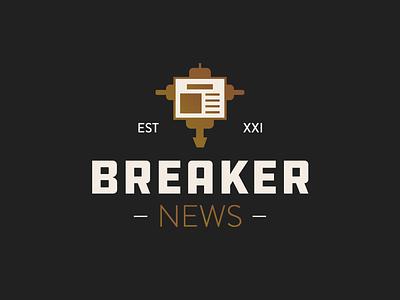 30 Minute Logo icons icon line art fake news gold news logo
