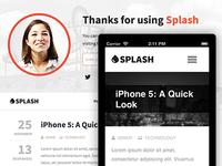 Splash - WordPress Theme