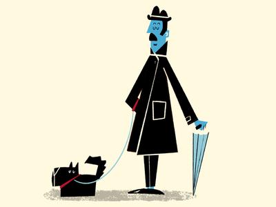 Dog and Englishman