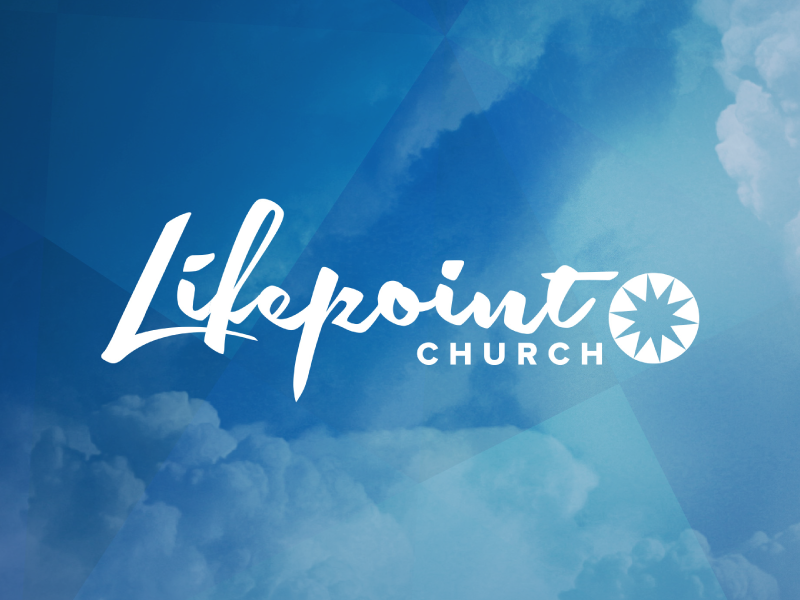 Lifepoint Church lettering custom rebrand logo identity church
