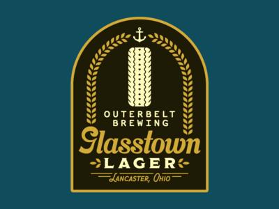 Glasstown Sticker