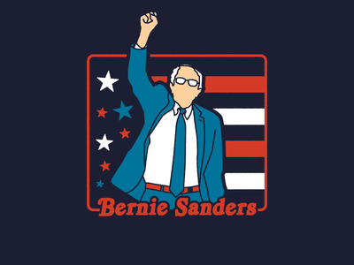 Feel it Still graphic apparel rock and roll usa america retro illustration bernie sanders political campaign politics
