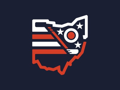 Columbus Blue Jackets Throwback Logo design ui vector badge hockey columbus ohio branding retro apparel illustration logo