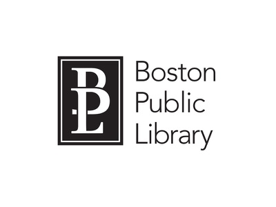 Boston Public Library design identity library boston logo