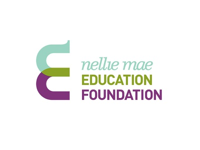 Nellie Mae Education Foundation  design identity foundation education nellie mae logo