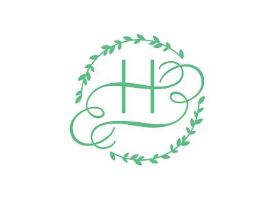 Wedding Monogram stamp identity logo design monogram wedding
