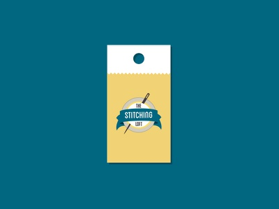 The Stitching Loft - tag loft stitch stitching print retail tag logo