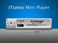 iTunes Concept Mini Player