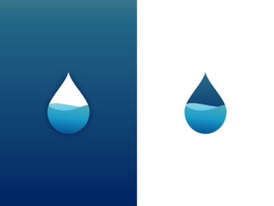 Drop logo concept