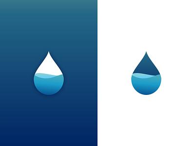 Drop logo concept design concept logo concept mark app app icon design app icon idendity abstract branding icon vector illustration logo water drop