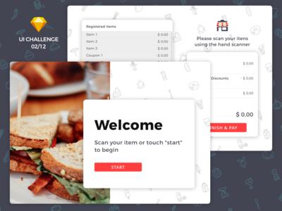 Self Checkout Interface 🛒