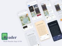 Book Reader App UI Kit