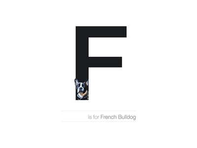 F - French Bulldog