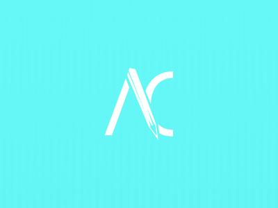 AC self project branding symbol mark monogram logo