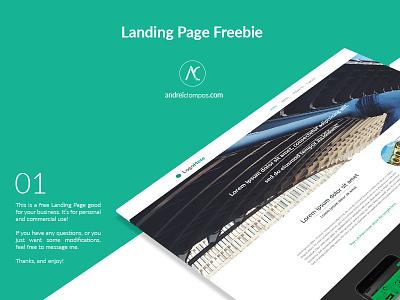 Freebie Landing Page website desktop user interface ui design home page landing page freebie free