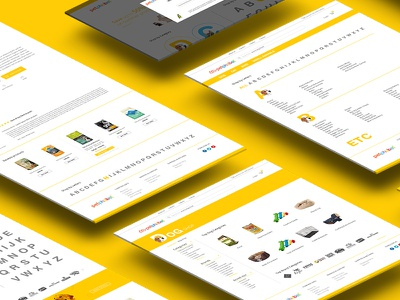 Petphabet website view isometric landing page cats dogs pets petphabet uidesign pages