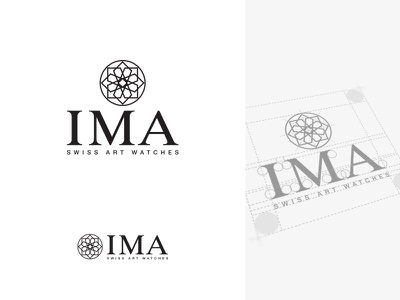IMA - Swiss Art Watches stationery branding schweiz suisse neuchâtel switzerland swiss art logo luxury watch watches