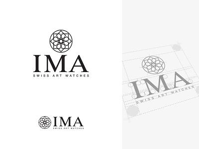 IMA - Swiss Art Watches stationery branding schweiz suisse neuchâtel switzerland swiss art logo luxury watch watches