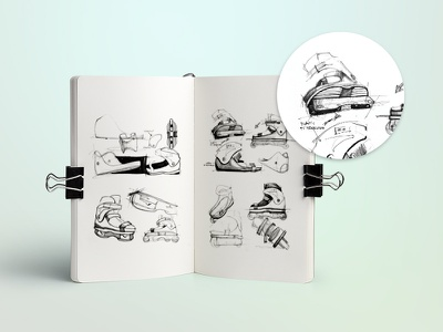 Rollerblade Sketches sketches aggressive inline rollerblade
