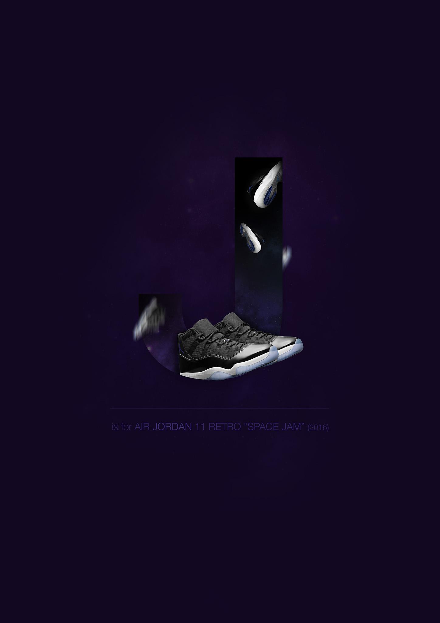 Sneakers alphabet jordan 11