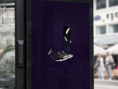 "J - is for AIR JORDAN 11 RETRO ""SPACE JAM"" (2016) teaser alphabet jam space retro jordan sneakers"