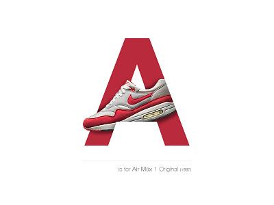 Air Max 1 Original 1987 switzerland basel a airmaxoriginal airmax1 airmax sneakersalphabet sneakers